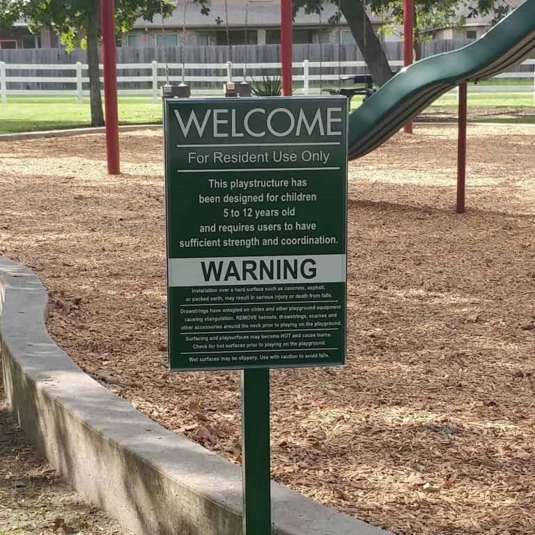 Custom Park Signage Signville